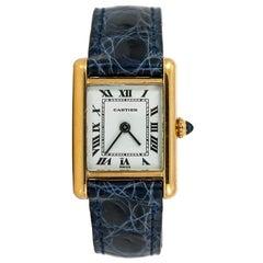 Cartier Tank Louis Cartier No-ref#, White Dial, Certified