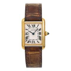 Cartier Tank Louis Cartier W1529856, Silver Dial, Certified