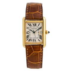 Cartier Tank Louis Cartier6720, Dial Certified Authentic