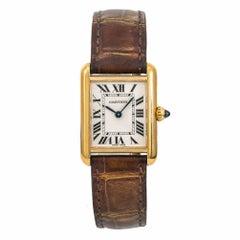 Cartier Tank Louis Cartier W1529856, Cream Dial Certified Authentic