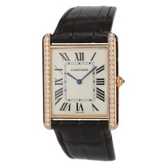 Cartier Tank Louis Rose Gold Men's WT200005