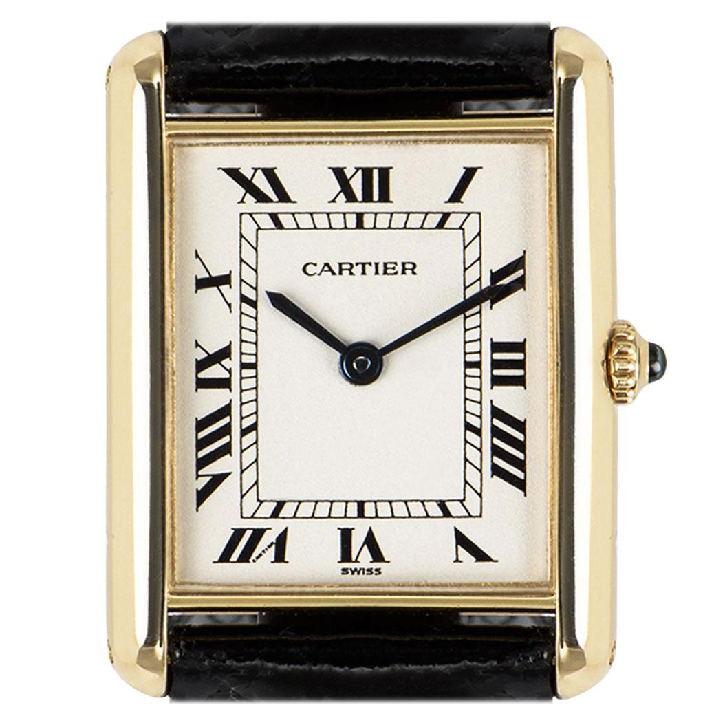 Cartier Tank Louis Yellow Gold 1140 Watch