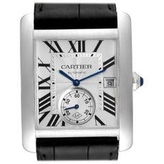 Cartier Tank MC Silver Dial Automatic Steel Men's Watch W5330003