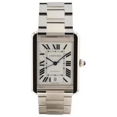Cartier Tank MISSING, Case, Certified and Warranty