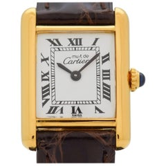 Cartier Tank Must de Ladies Sized Watch, 1980s