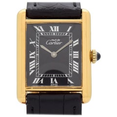 Cartier Tank Must de Men's Sized Watch, 1990s