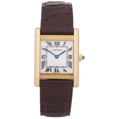 Cartier Tank Paris 18 Karat Yellow Gold