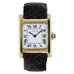 Cartier Tank Paris Ladies Rare Watch