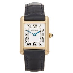 Cartier Tank Paris Yellow Gold