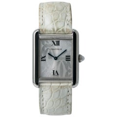 Cartier Tank Solo 2716, Silver Dial, Certified and Warranty