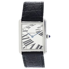 Cartier Tank Solo 3169 Stainless Steel Watch