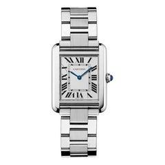 Cartier Tank Solo Quartz Movement Steel Watch W5200013