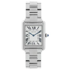 Cartier Tank Solo Stainless Steel Ladies Watch W5200013 3170