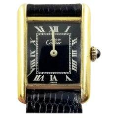 Cartier Tank Vermeil Manual Watch