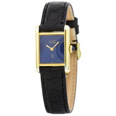 Cartier Tank Vermeil Vintage, White Dial, Certified and Warranty