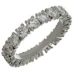 Cartier Étincelle Diamond Platinum Wedding Band