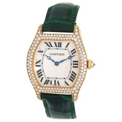 Cartier Tortue 2496, Case, Certified and Warranty