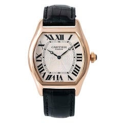 Cartier Tortue 2763J, Blue Dial, Certified and Warranty