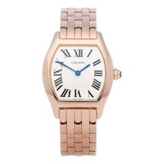 Cartier Tortue 3698 Ladies Rose Gold Watch