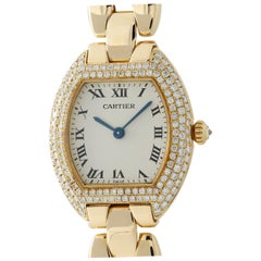 Cartier Tortue Unknown, Silver Dial, Certified and Warranty