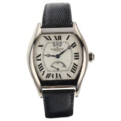 Cartier Tortue W1542751, Silver Dial, Certified and Warranty