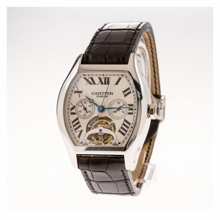 Cartier Tortue W1545751, Certified and Warranty In Excellent Condition For Sale In Miami, FL