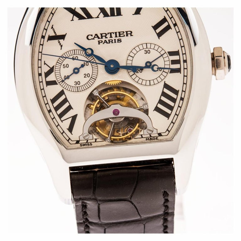 Cartier Tortue W1545751, Certified and Warranty For Sale 1