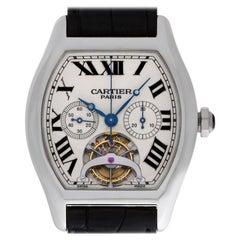 Cartier Tortue W1545751, Beige Dial, Certified and Warranty