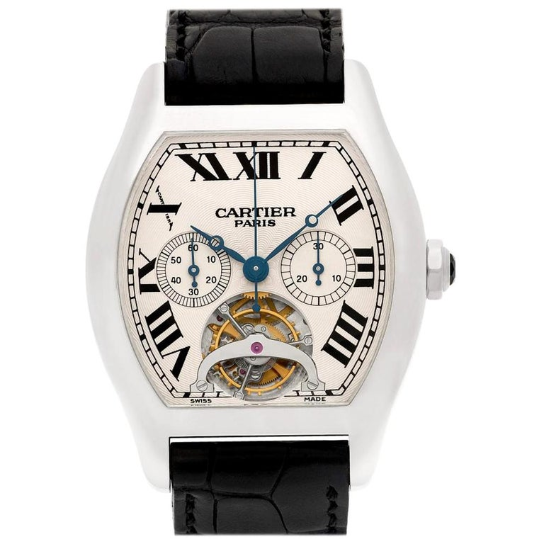 Cartier Tortue W1545751, Certified and Warranty For Sale