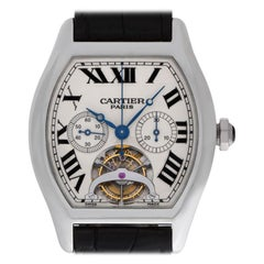 Cartier Tortue W1545751, Silver Dial, Certified and Warranty