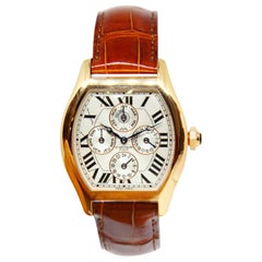Cartier Tortue XL Collection Privee Perpetual Calendar Limited Edition Watch