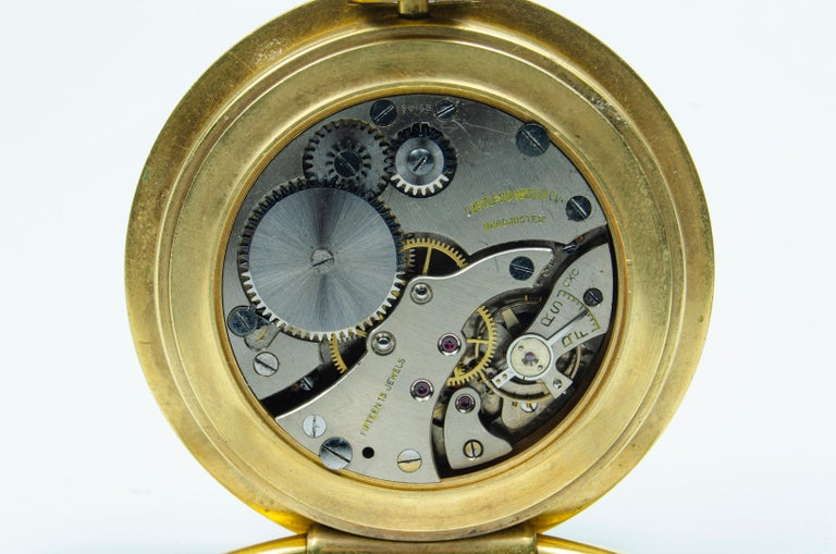 Swiss Cartier Travel Clock 'on Table' For Sale