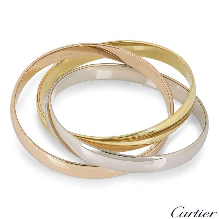 Women's Cartier Tri-Colour Gold Trinity Bracelet