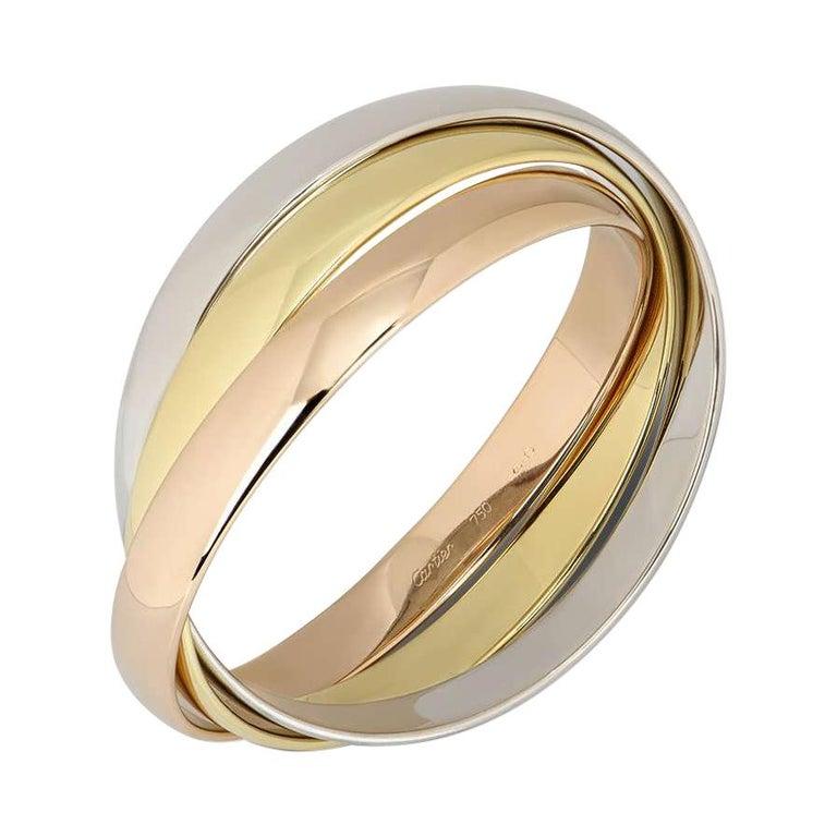 Cartier Tri-Colour Gold Trinity Bracelet