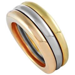Cartier Trinity 18 Karat Yellow/White/Rose Gold Ring
