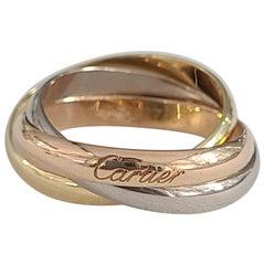 Cartier Trinity Band in 18 Karat Gold