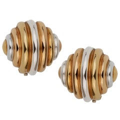 Cartier Trinity Clip-On Gold Earrings