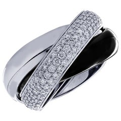 Cartier Trinity De Cartier Large Model Diamond Ring