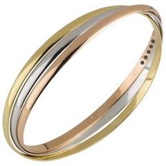 Cartier Trinity de Cartier Tri-Colour Gold Bracelet
