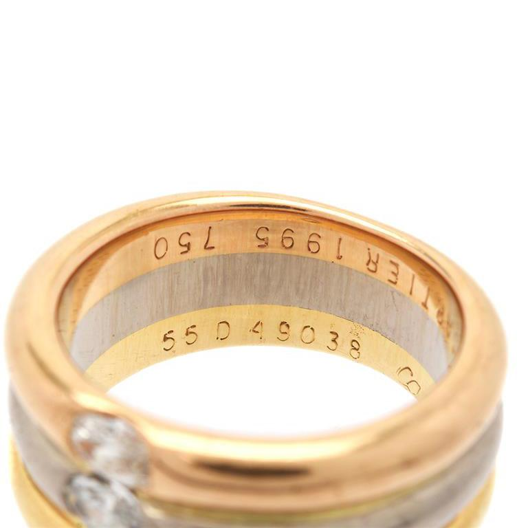 Cartier Trinity Diamond Ring For Sale 1