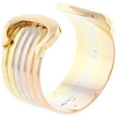 Cartier Trinity Double C de Cartier Ring