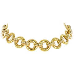 Cartier Trinity Gold Link Necklace