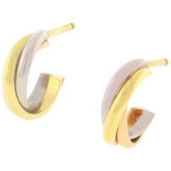 Cartier Trinity Hoop Earrings