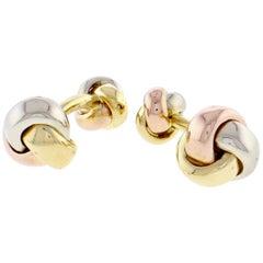 Cartier Trinity Love Knot Cufflinks