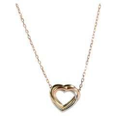 Cartier Trinity Necklace in 18K 3 Tone Gold