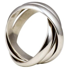 Cartier Trinity Ring in 18k White Gold SM