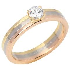 Cartier Trinity Solitaire Diamond Ring