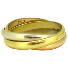 Cartier Trinity Three-Color Gold Ring, France