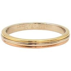 Cartier 'Trinity' Tri-Gold Wedding Band