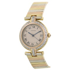 Cartier Trinity Vendome Diamond 18 Karat Ladies Watch